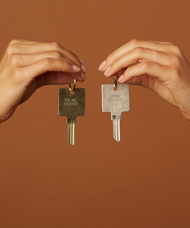 Pay Me Equally Keychain Key Chain The Giving Keys | Lifestyle