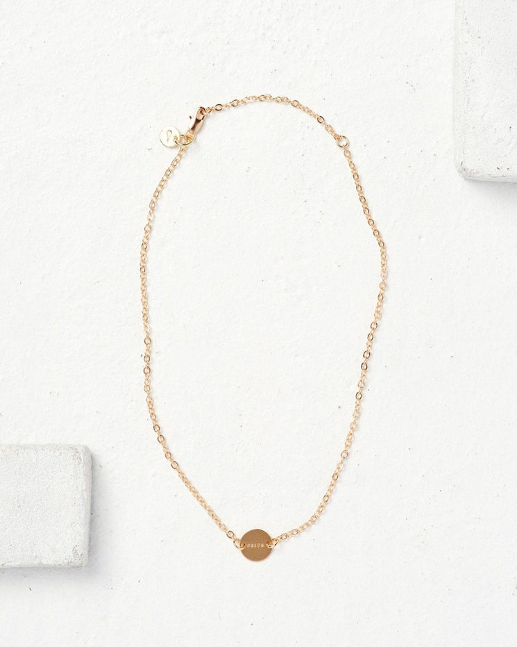 Never Ending Disc Necklace Necklaces The Giving Keys | Lifestyle