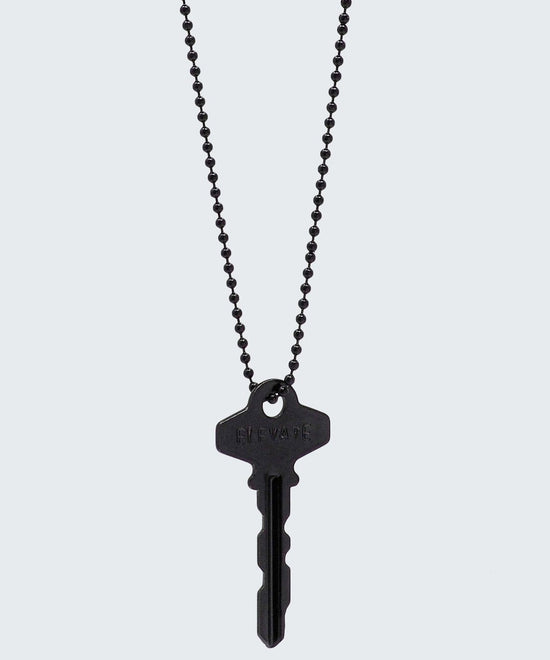 Elevate Classic Key Necklace Necklaces The Giving Keys ELEVATE Matte Black