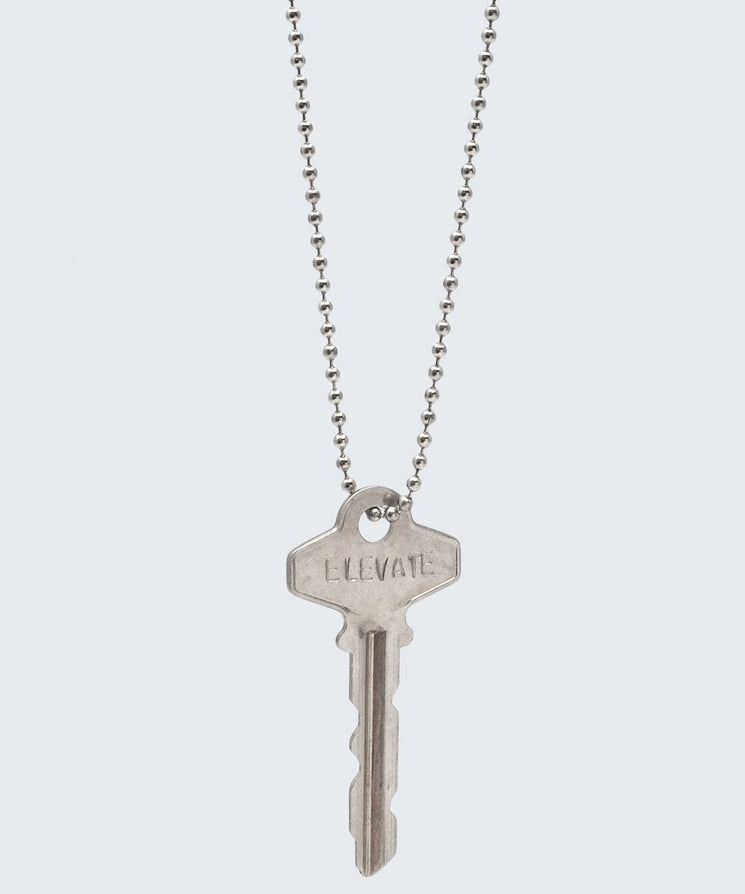 Elevate Classic Key Necklace Necklaces The Giving Keys ELEVATE Silver