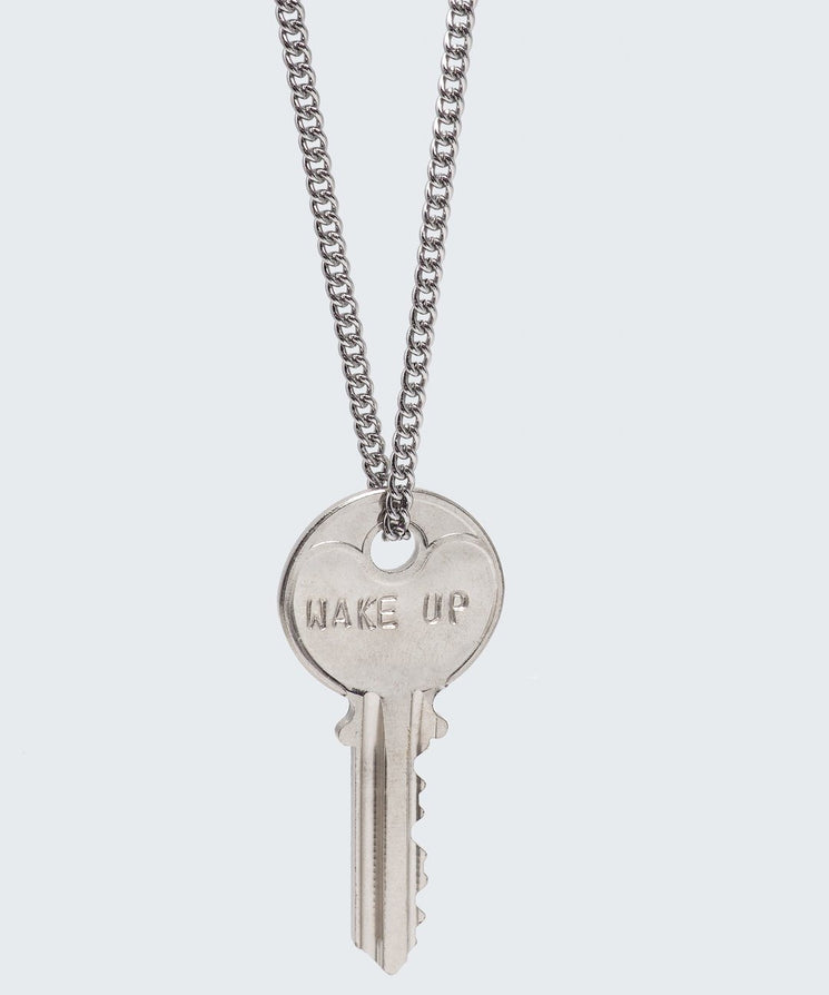 ENNEAGRAM Classic Key Necklace Necklaces The Giving Keys WAKE UP Silver
