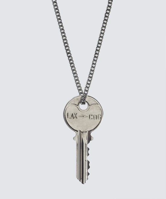 Travel Classic Key Necklace Necklaces The Giving Keys CUSTOM Silver