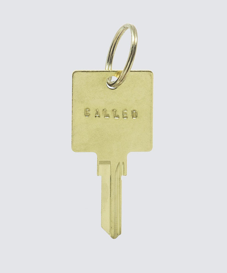 SCRIPTURE Hotel Keychain Key Chain The Giving Keys CALLED GOLD