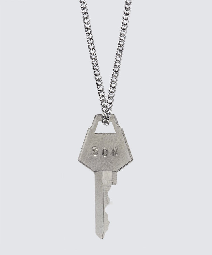 FAITH Collection Classic Key Necklace Necklaces The Giving Keys SON Silver
