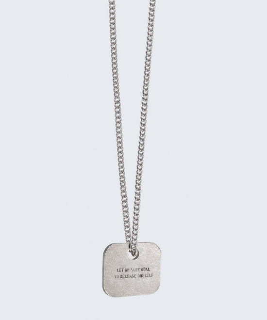 Definition Square Pendant Necklace – The Giving Keys