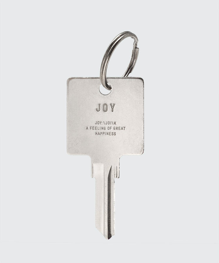 Definition Keychain Key Chain The Giving Keys JOY SILVER