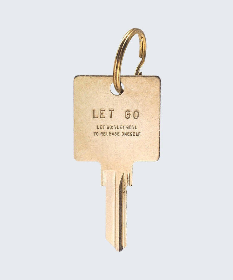 Definition Keychain Key Chain The Giving Keys Let Go GOLD