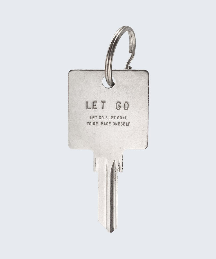 Definition Keychain Key Chain The Giving Keys Let Go SILVER