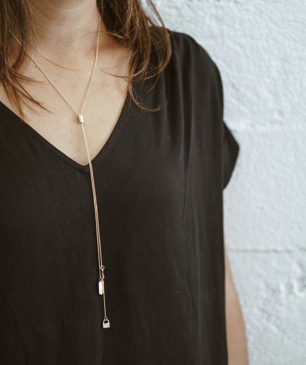 Pay It Forward Y Necklace