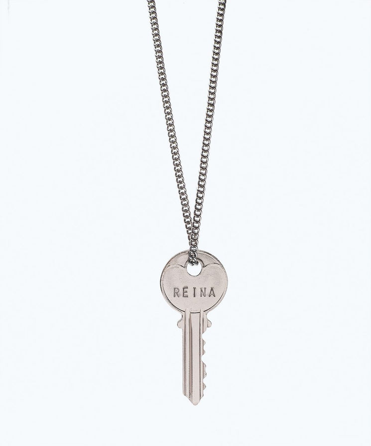 WORDAFUL Classic Key Necklace Necklaces The Giving Keys REINA SILVER