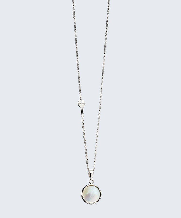 Shell Pendant Necklace Necklaces The Giving Keys SILVER FEALRESS