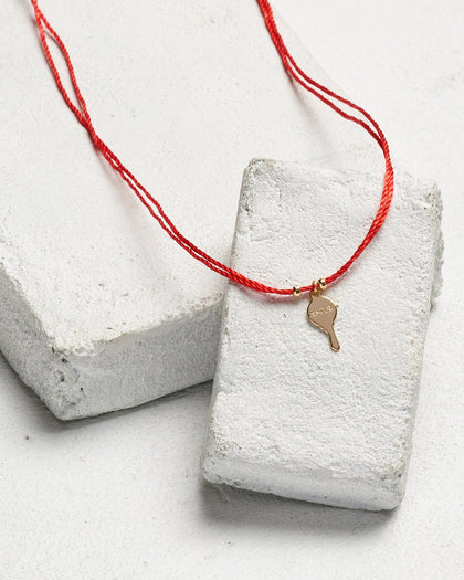 Key Strand Choker - HIDDEN ALL SKUS Necklaces The Giving Keys Word assigned by color Red/Inspire