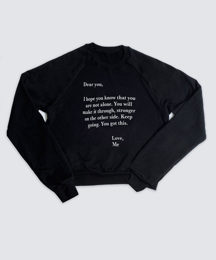 DEAR YOU LOVE ME Sweatshirt Apparel The Giving Keys S