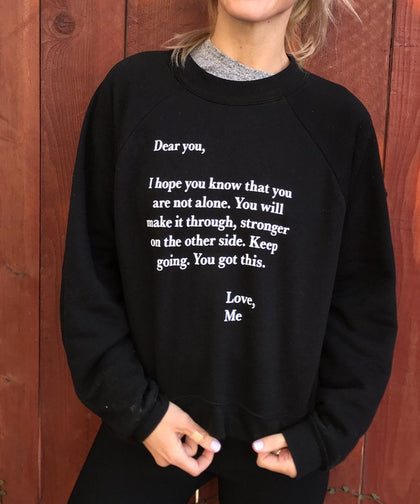 DEAR YOU LOVE ME Sweatshirt Apparel The Giving Keys | Lifestyle