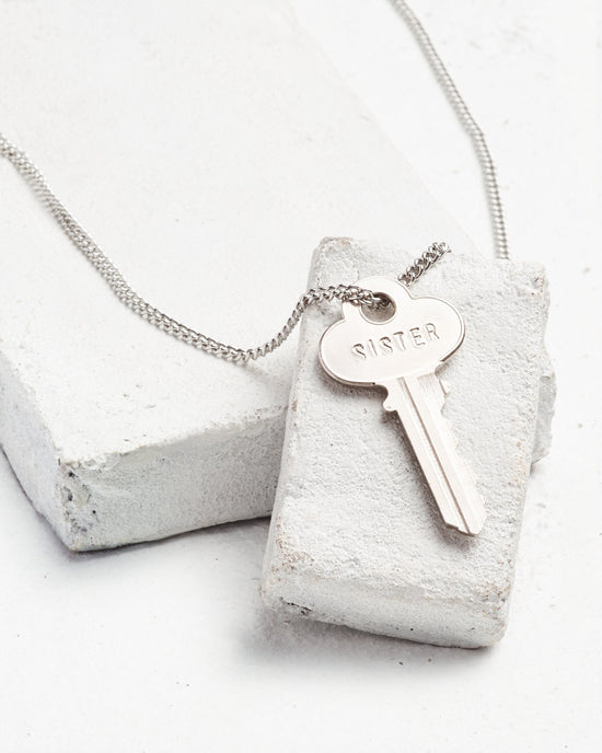Sister Classic Key Necklace