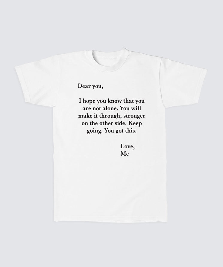 DEAR YOU LOVE ME Cotton Tee Apparel The Giving Keys XS