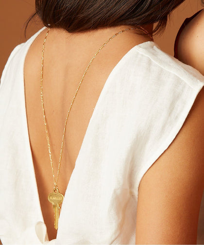 Florence Classic Key Necklace Necklaces The Giving Keys