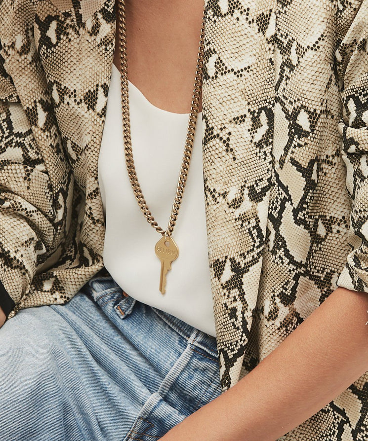 Rebel Classic Key Necklace Necklaces The Giving Keys | Lifestyle