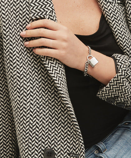Rebel Padlock Bracelet Bracelets The Giving Keys | Lifestyle