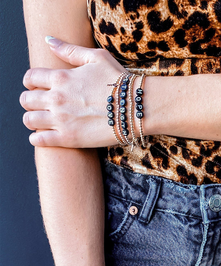 HOPE Beaded Bracelet Bracelets The Giving Keys | Lifestyle