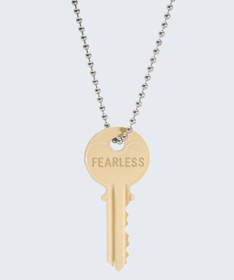Vanilla Latte Classic Ball Chain Necklace Necklaces The Giving Keys FEARLESS SILVER