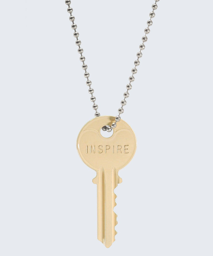 Vanilla Latte Classic Ball Chain Necklace Necklaces The Giving Keys INSPIRE SILVER