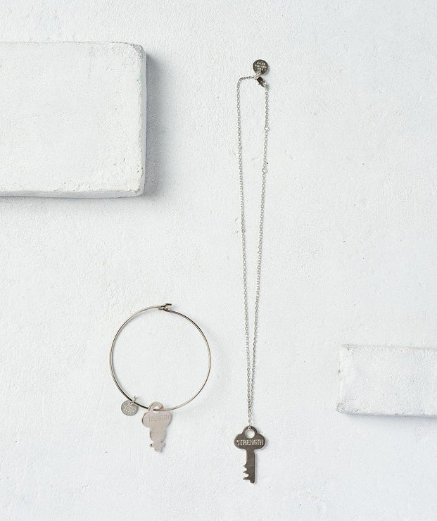 STRENGTH Dainty Key Gift Set