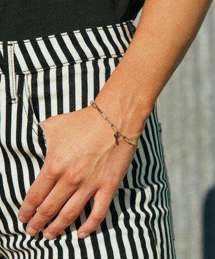 Brooklyn Mini Key Bracelet Necklaces The Giving Keys | Lifestyle