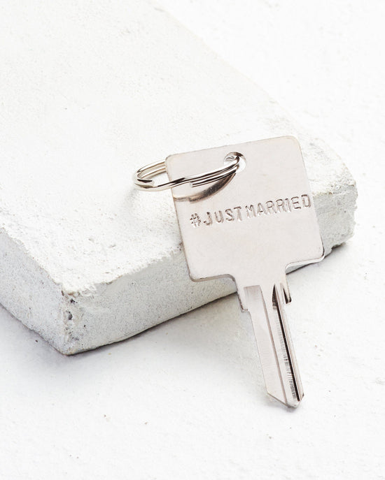 Original Hashtag Keychain Key Chain The Giving Keys CUSTOM SILVER
