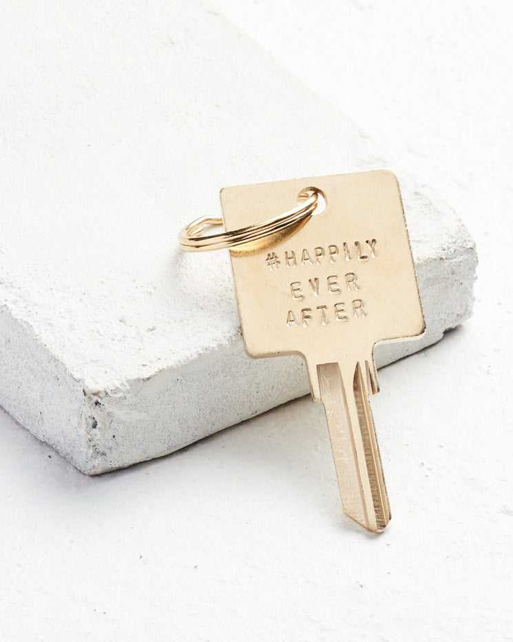 Wedding Hashtag Keychain