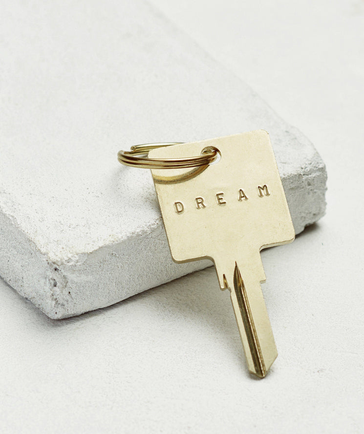 Original Keychain Key Chain The Giving Keys DREAM GOLD