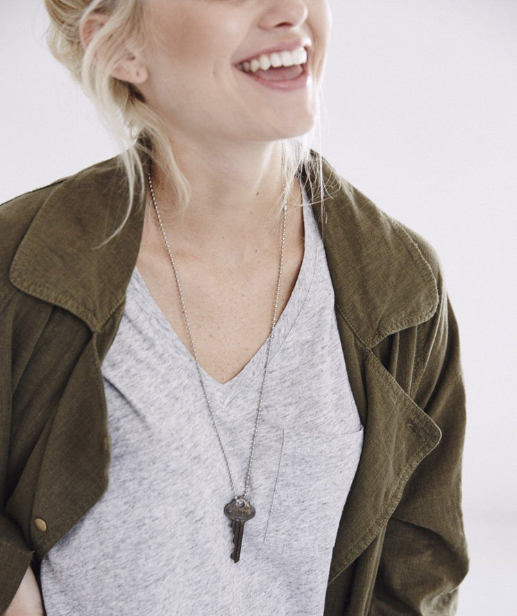 Classic Key Necklace Necklaces The Giving Keys | Lifestyle