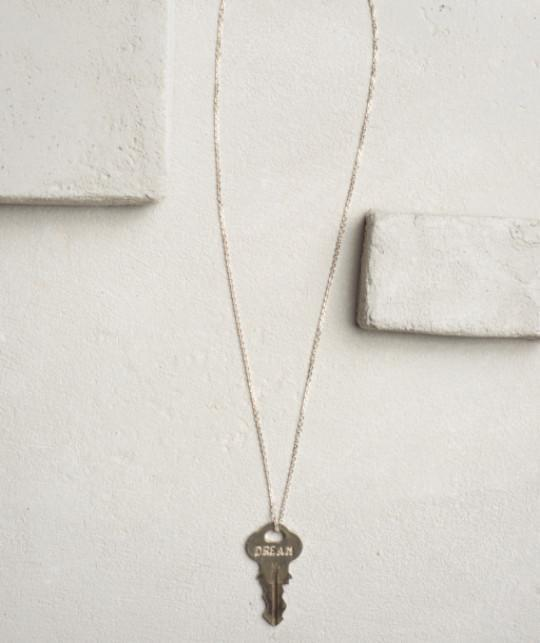 Travel Dainty Key Necklace Necklaces The Giving Keys CUSTOM Dainty Silver
