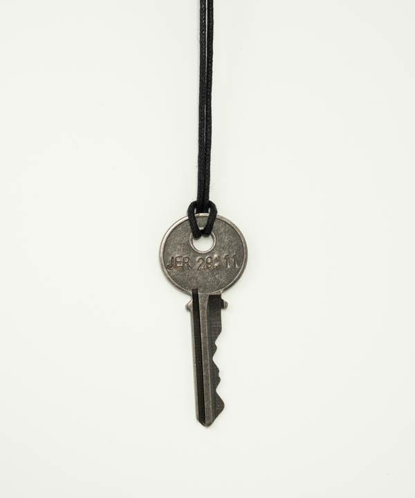 Jeremiah 29:11 Classic Key Necklace Necklaces The Giving Keys JER. 29:11 Black