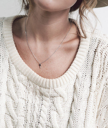 Best Friend Mini Key Necklace Sets Necklaces The Giving Keys LOVE Silver | Lifestyle