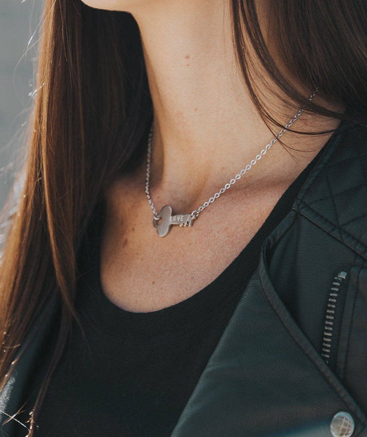 Never Ending Key Choker Necklaces The Giving Keys | Lifestyle