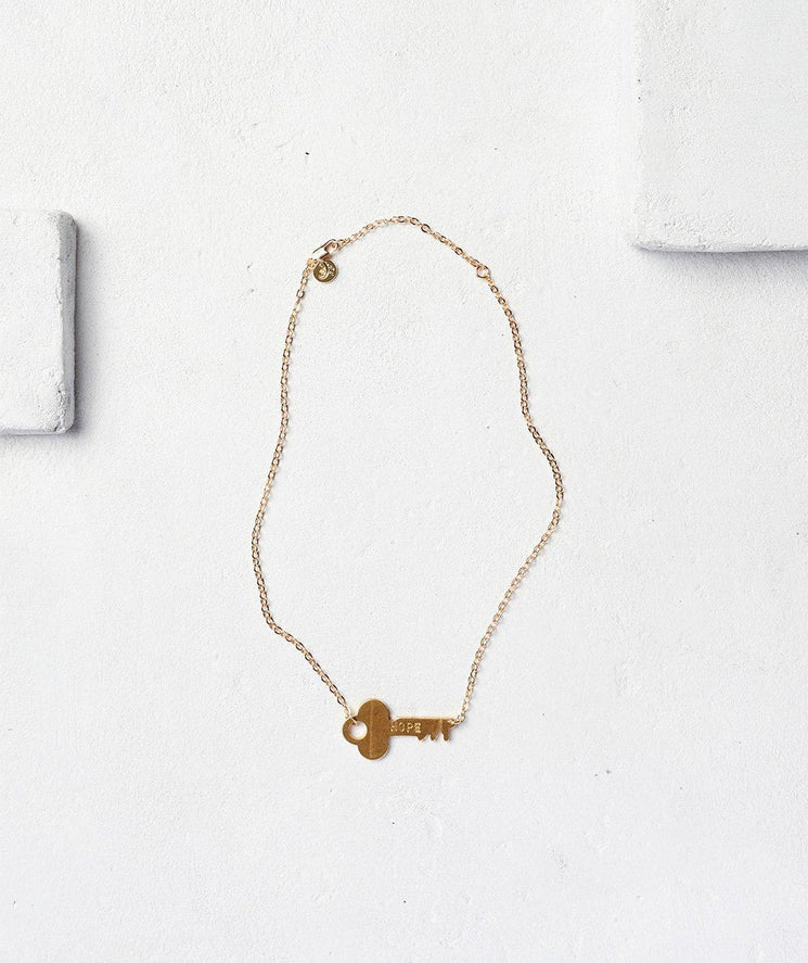 Never Ending Key Choker Necklaces The Giving Keys CUSTOM Gold | Lifestyle