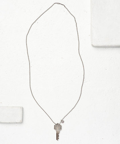 Symbol Classic Ball Chain Key Necklace Necklaces The Giving Keys