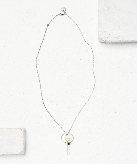 Symbol Dainty Key Necklace Necklaces The Giving Keys
