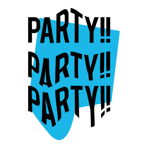 Party Party Party Short Sleeve T-shirt
