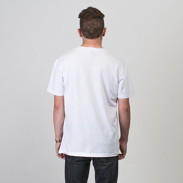 Play Fair Short Sleeve T-shirt - White/Green