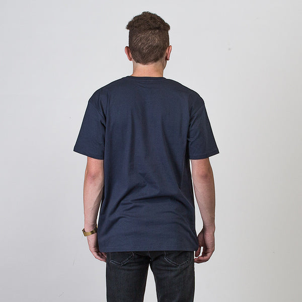 St Clair Short Sleeve T-shirt - Navy/Pink/White
