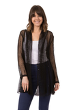 Long Sleeve Mesh Cardigan