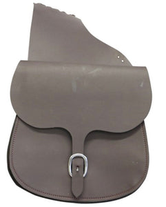 Ord River Synthetic Double Saddle Bag Brown