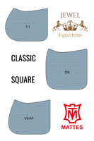 CUSTOM SHEEN SADDLE PAD - E.A Mattes FROM
