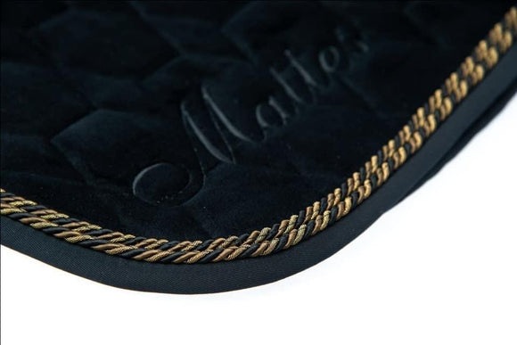 Deluxe Limited Edition XL - Square Black Velvet - NO Sheepskin