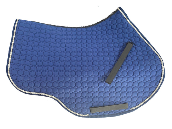 Mattes Blue Cotton Showjumping Pad