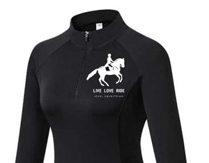 Dressage - Long Sleeve Tech Sports Top - Base Layer