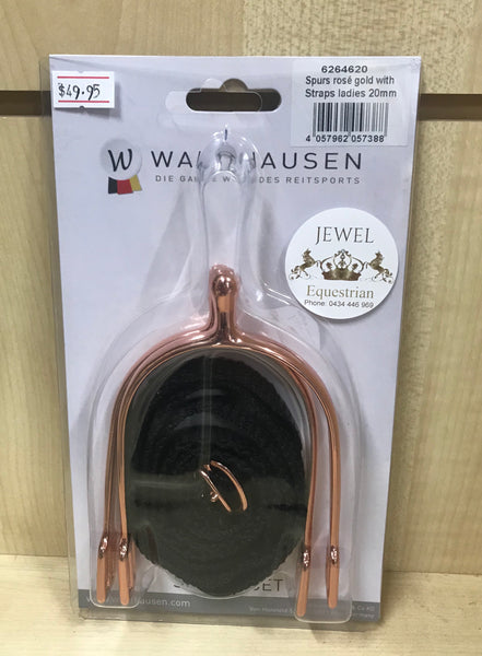 Waldhausen 20mm Rose Gold Spurs