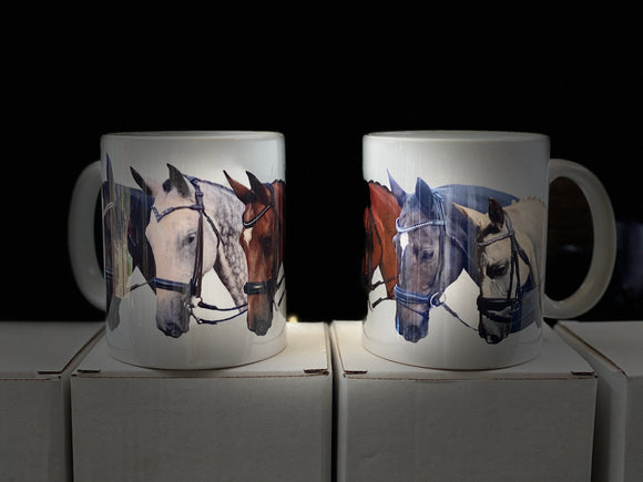 Coffee Mug - With Horses